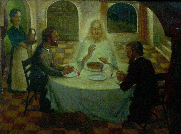 Emmaüsgangers  Emmaüs was een dorp in Judea op 11½ kilometer van Jeruzalem. Volgens het Lucasevangelie, hoofdstuk 24, 13-35, zou Jezus daar op Paasdag aan twee discipelen zijn verschenen, die hem eerst echter niet herkenden.