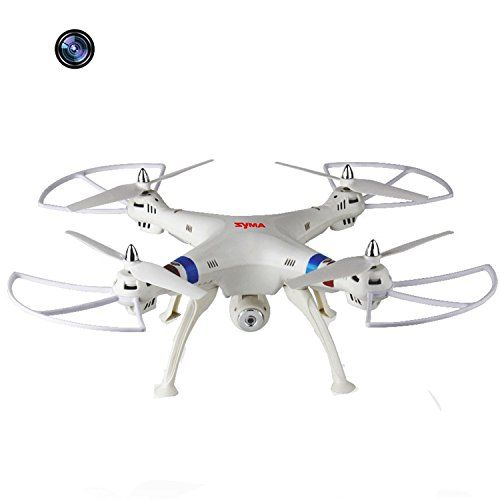 (Large Size Syma X8C 4 Channel 6 Axis 2.4G RC Remote Control Quadcopter With 200W Pixels HD Camera Flash Light Helicopter Airplane Quad Copter Plane Aircraft Model Toys White) Can be viewed at http://all-about-drones.com/product/large-size-syma-x8c-4-channel-6-axis-2-4g-rc-remote-control-quadcopter-with-200w-pixels-hd-camera-flash-light-helicopter-airplane-quad-copter-plane-aircraft-model-toys-white/