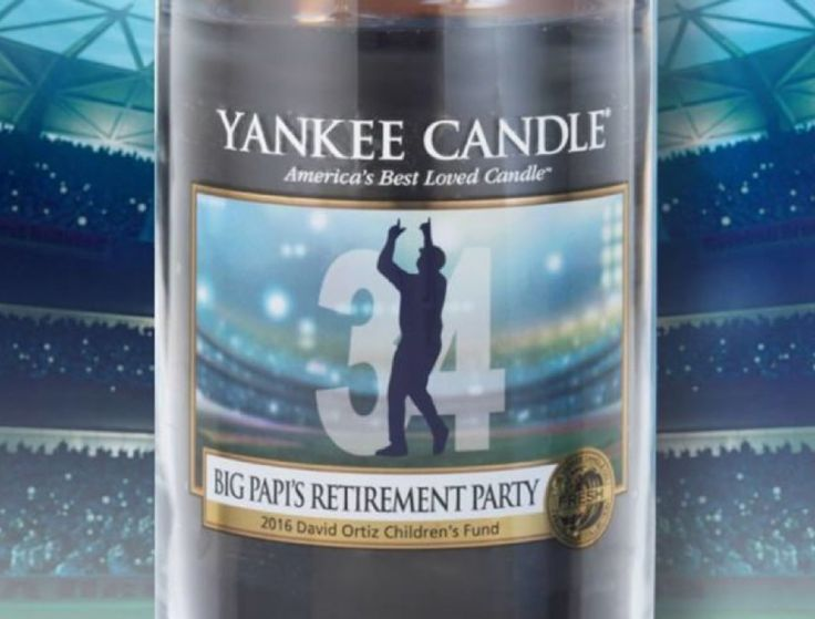 Yankee Candle Releasing a Commemorative David Ortiz Candle