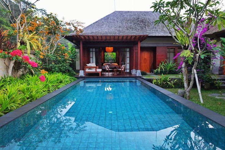 The one bedroom villa exterior at Mandapa, A Ritz-Carlton Reserve Ubud.