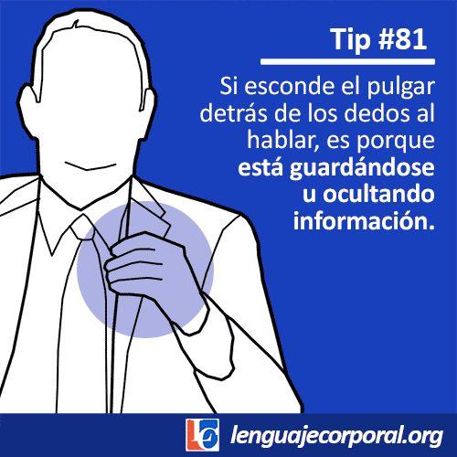 81 Esconder el pulgar al hablar