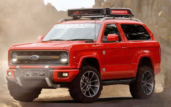 This would be an awesome look for the new 2017 Ford Bronco!