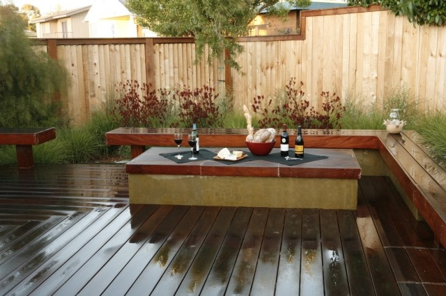 nice! no patio furniture required.