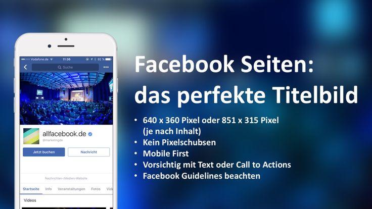 Richtig gute Anleitung für ein optimales Facebook-Titelbild mit Beispielen, Bildgrößen und Tipps:  http://allfacebook.de/features/facebook-verrat-die-perfekte-einstellung-furs-coverfoto