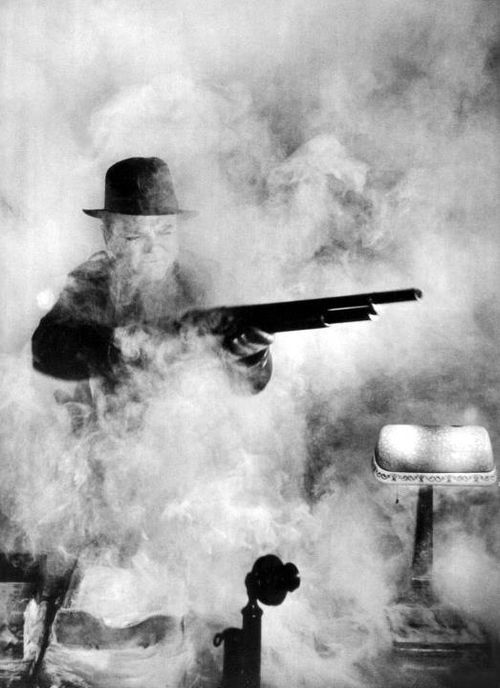 """James Cagney inRaoul Walsh's """"White Heat"""""""