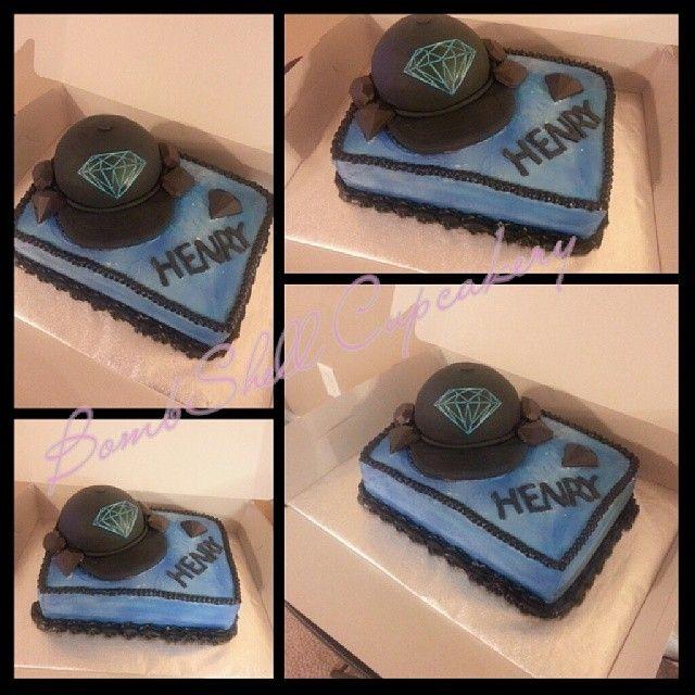 Diamond supply company cake