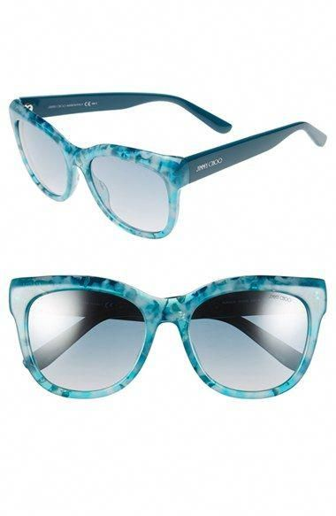 2aa86545fe8 Free shipping and returns on Jimmy Choo  Nurias  54mm Retro Sunglasses at  Nordstrom.com. Sculptural curves and subtle branding lend unmistakable ...