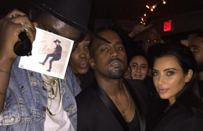 Kanye turns up to his favorite Young Thug song.