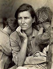Dorthea Lange - famous photographer from the depression era.