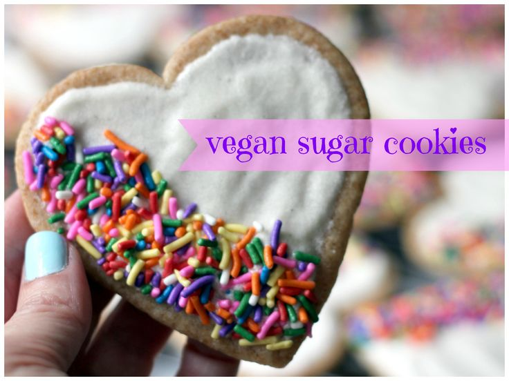 When, Lynn, their holiday host, mentions she has a problem with butter (she'd eat it plain if she could) Simon rescues her with a recipe like this: The Best (Vegan) Sugar Cookies - Ever!
