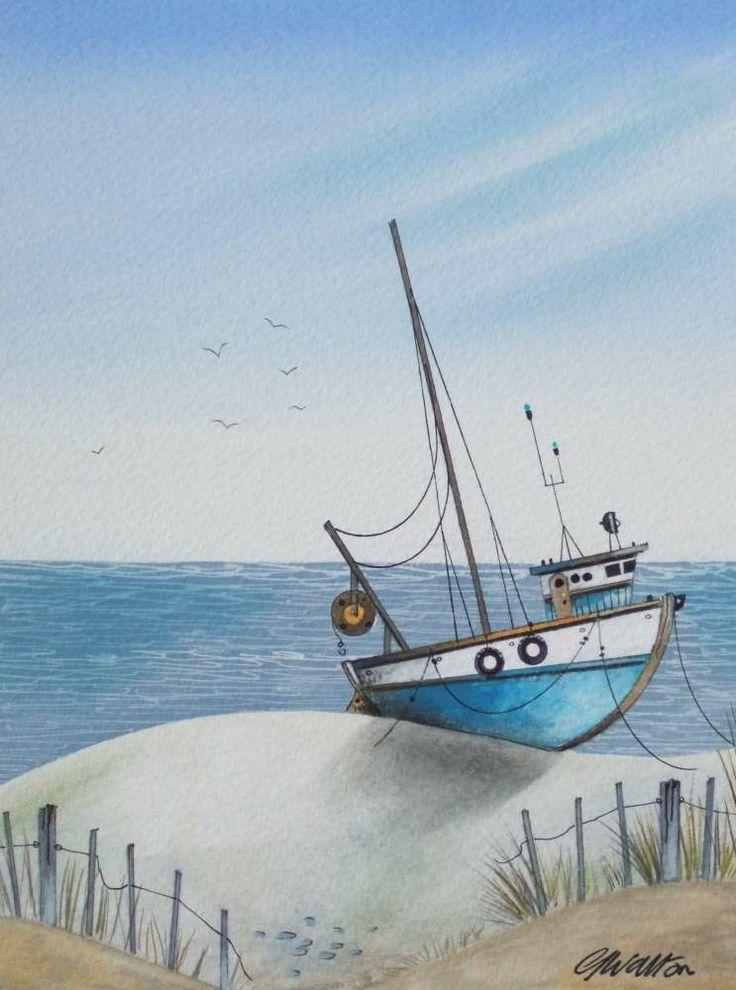 Gary Walton Watercolor (Love this one!)