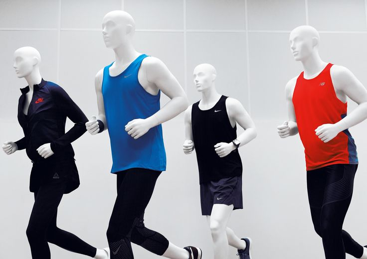 Sports Collection by More Mannequins #FemaleMannequin #MaleMannequin #style #shopwindow #visualmerchandising #windowdisplay #vm #retail #sport #jogging #runners