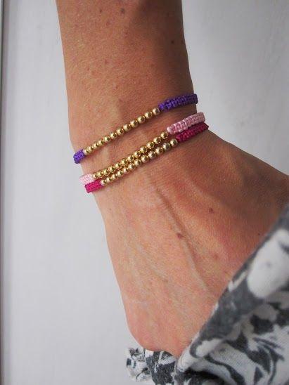 Elegant Colourful Macrame Bracelets | so resourceful