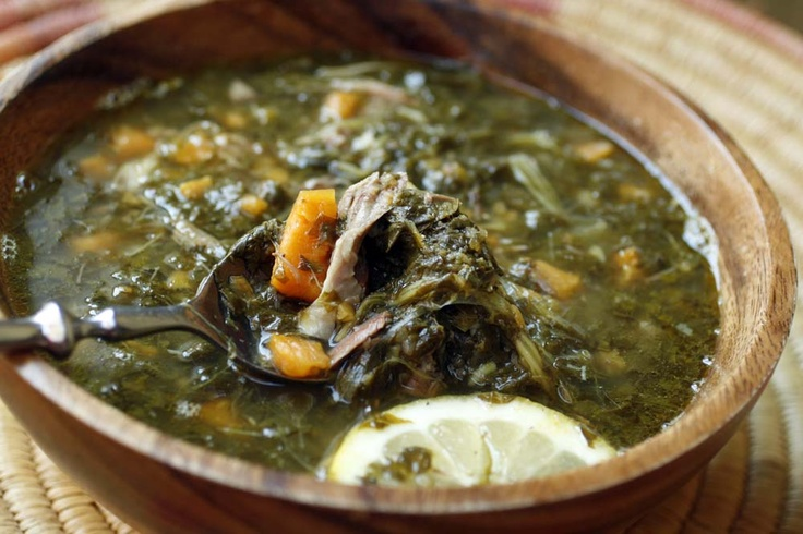Soup of lamb shanks and turnip greens with sweet potatos. We had this at the American Lamb Board luncheon last year. Awesome! Who knew that Beirut knew what a Tennessee boy likes to eat?