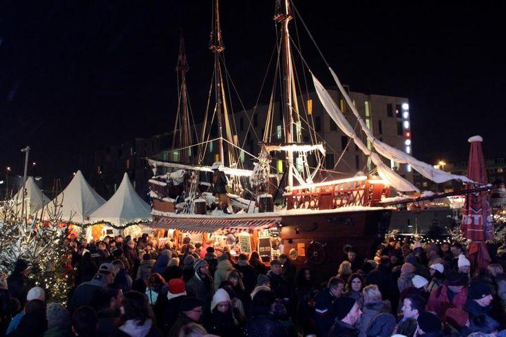 Weihnachten ganz maritim: Kölner Hafen-Weihnachtsmarkt am Schokoladenmuseum #Freizeit_Kultur #Adresse #Advent #Altstadt #Anfahrt