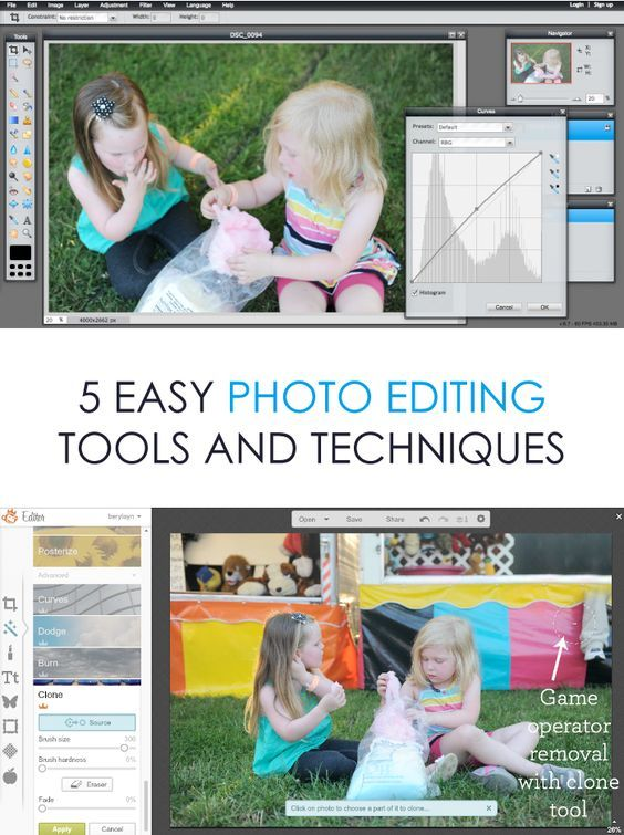 5 Photo Editing Tools and Techniques *Great list of EASY photography tips.