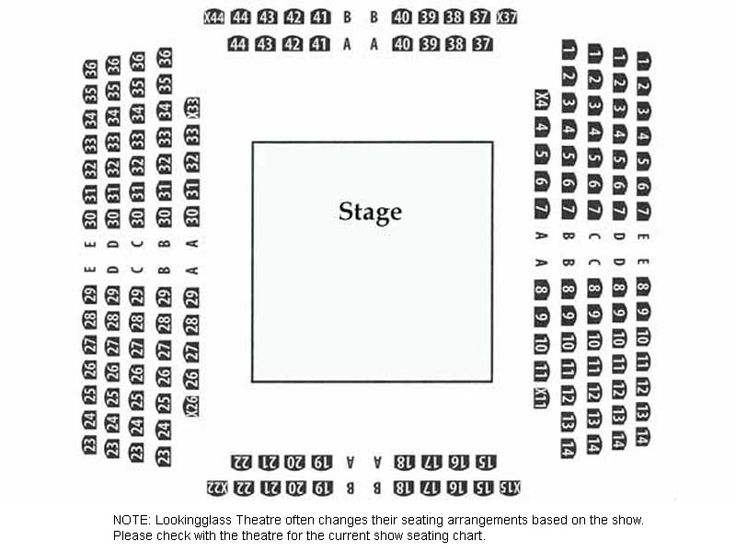 The  Best Chicago Theater Seating Chart Ideas On