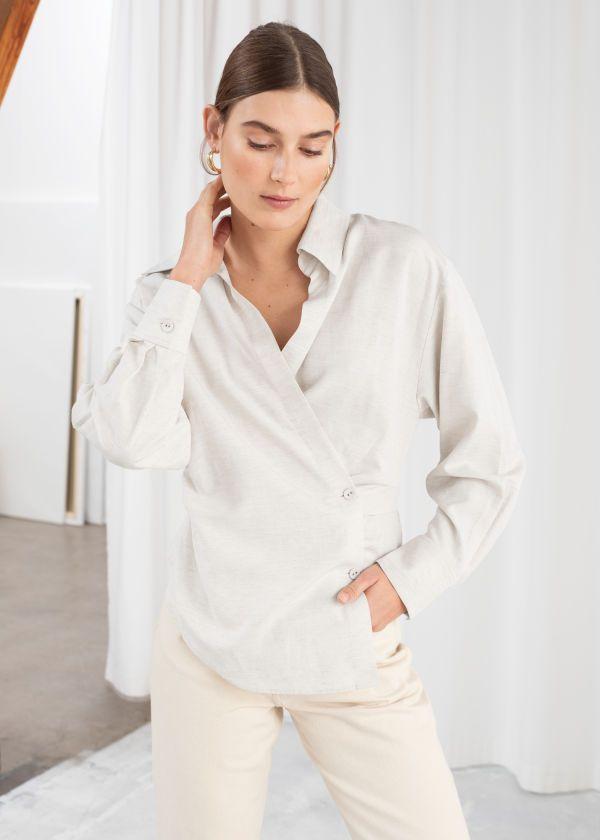 b63492e5ebbfe All clothing - Clothing - & Other Stories GB   SS19 in 2019   Shirts ...