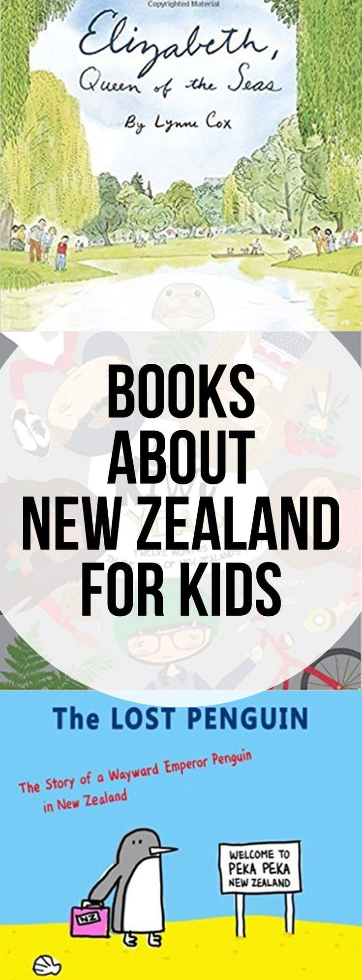 Books About New Zealand for Kids - picture books and non-fiction books.