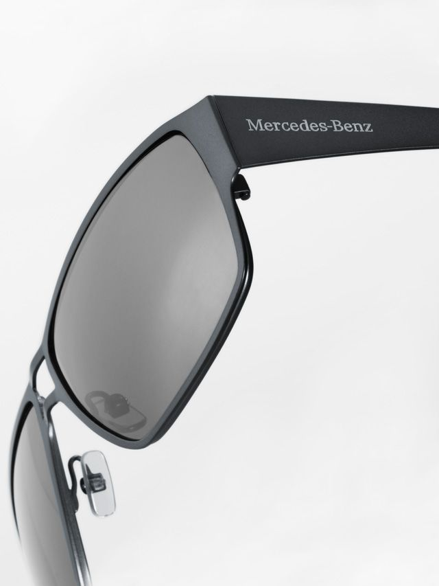 Sunglasses, Unisex black, metal B66950775  Colour: black Material information:metal Sunglasses. Black metal frame. Optics by Carl Zeiss Vision, glasses with UV400 protection.  Black leather-effect case with cleaning cloth. Logo embossed on both arms.