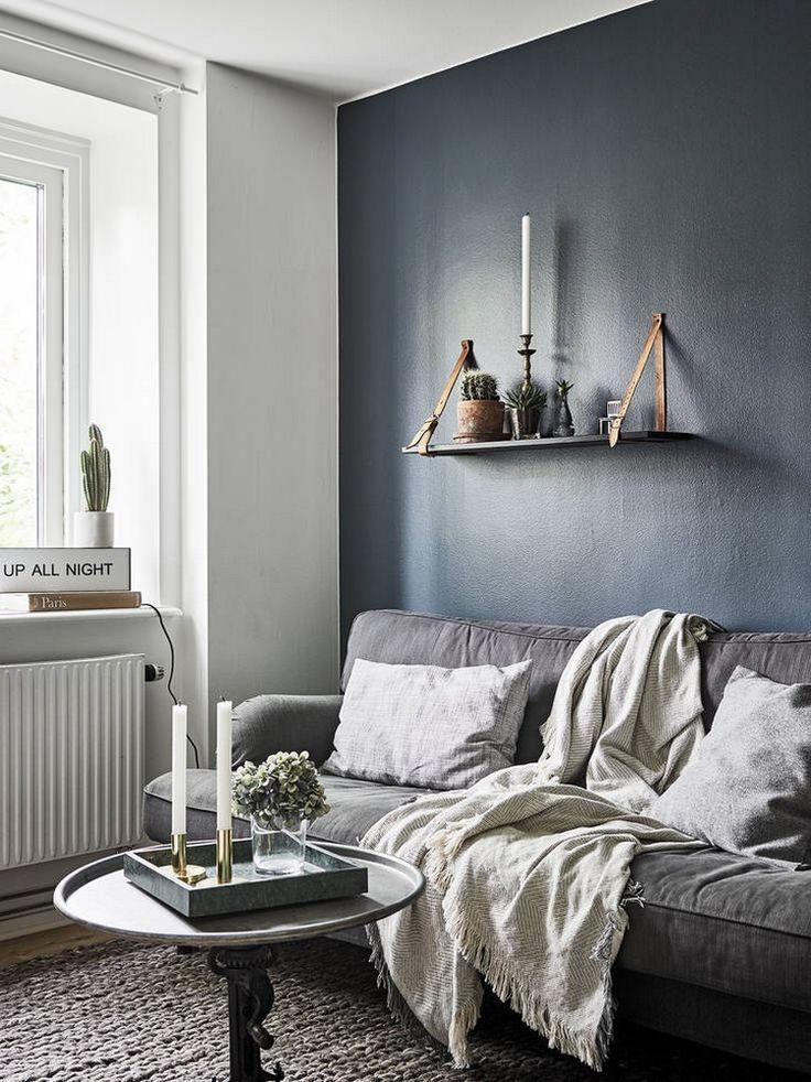 Las 25 mejores ideas sobre paredes de color gris oscuro - Paredes color gris ...