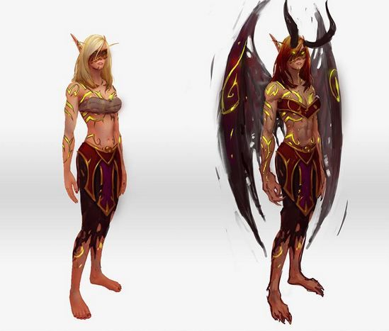 world of warcraft legion demon hunter - Google Search