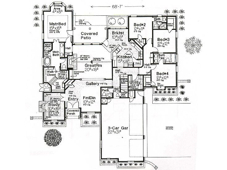 The 25 best unique house plans ideas on pinterest cute for Unique european house plans