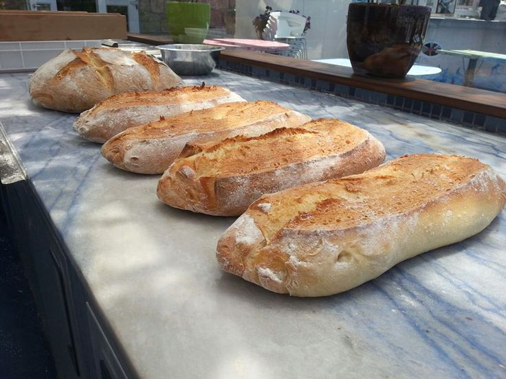 Freshly baked home made bread Marechiaro Mykonos