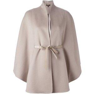 Loro Piana belted cape coat