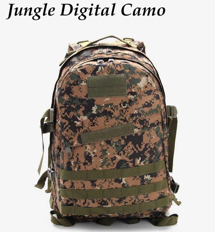 3D Tactical Backpack Military Army Rucksack Bag Camping  Hiking CS Tactical Backpack