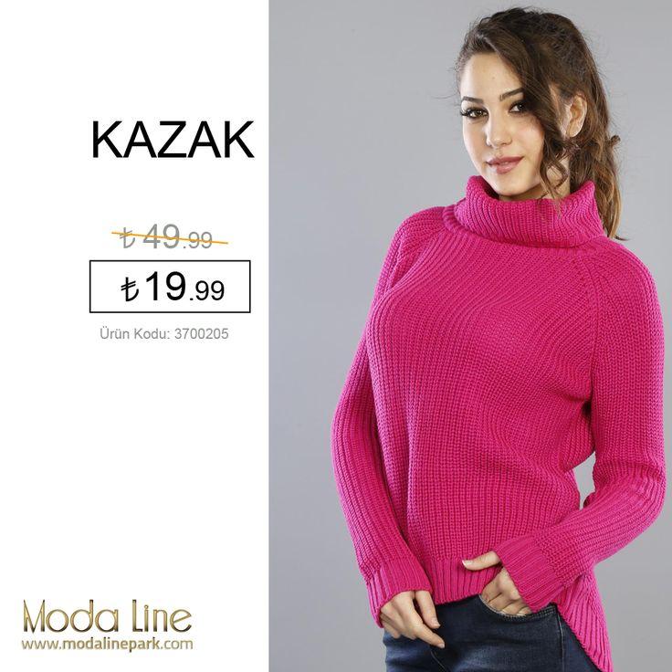 Şık olmayı ve dikkatleri üzerine çekmeyi sevenlerin seçimi #kazak modalinepark.com'da!