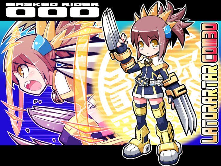 4 Fav Kamen Rider OOO