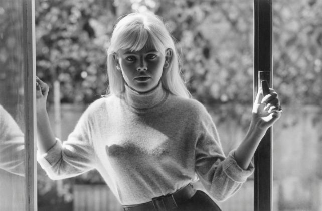Actress Britt Ekland in 1963 at age 21.