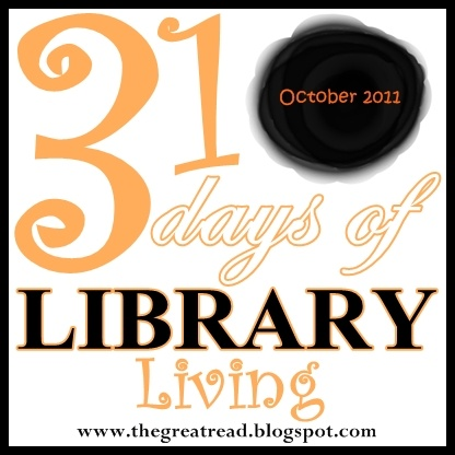 The Nester and The Inspired Room for 31 Days of Library Living during the month of October, 2011. : Libraries, Fun Blog, Thirty One Days, Books Worth, Project Ideas, 31 Days