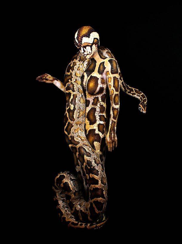 johannes+stotter+body+art | 17 amazing Body Painting by Johannes Stötter
