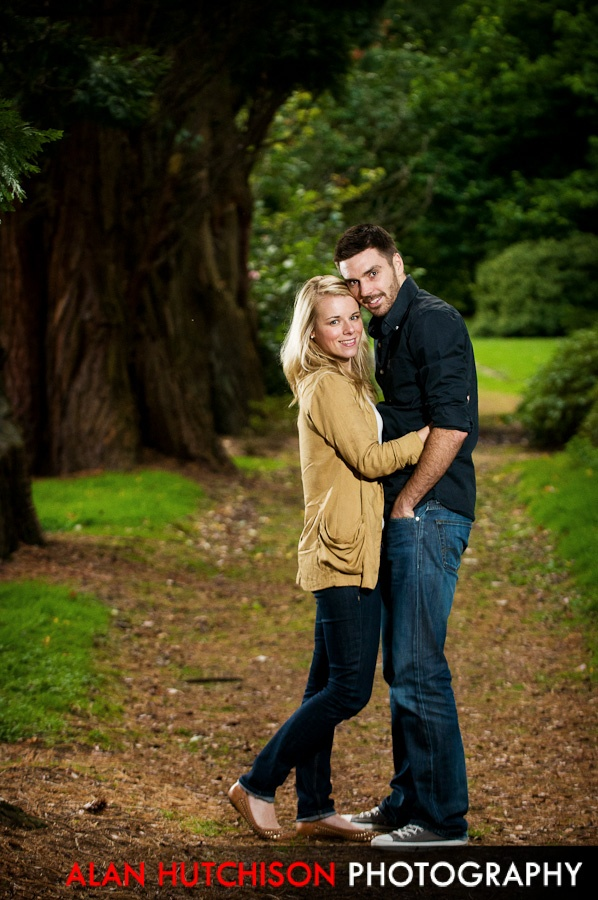 Tennis star Colin Fleming and Gemma Pimbley's Pre-Wedding shoot - at Stirling University    http://www.alanhutchison.co.uk/wedding-photography-scotland-about-us/