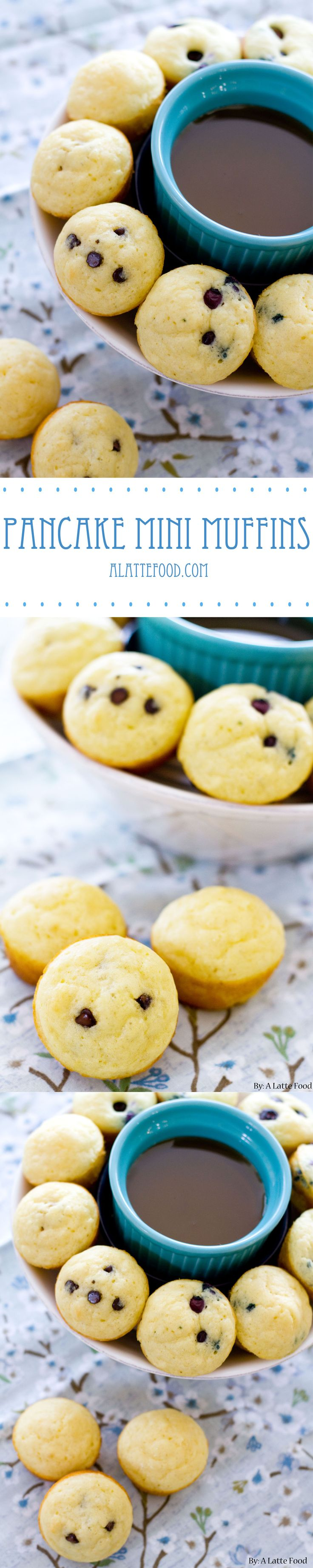 Pancake Mini Muffins   Breakfast has never been so fun, easy, and delicious. These pancake mini muffins are the best way to start the day!