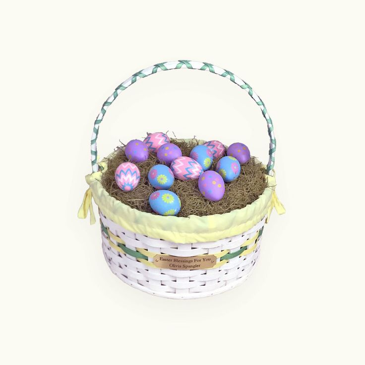 7 best handmade easter baskets images on pinterest amish give your child an heirloom amish personalized easter baskets from amishbaskets negle Image collections