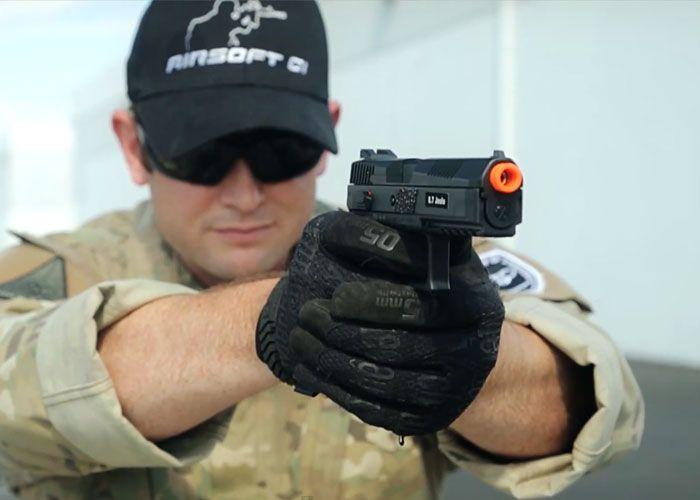 Heavy Kick GBB Pistol - ASG CZ P-09