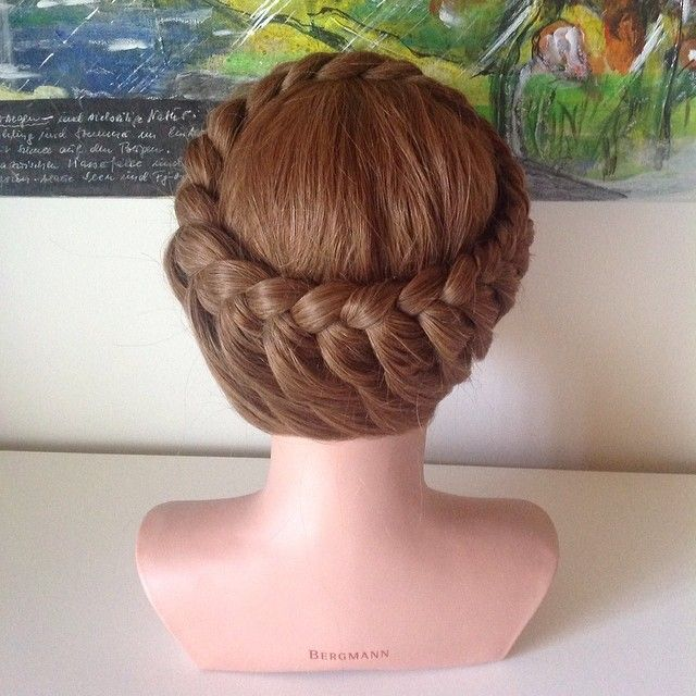 63 best Sophisticated Crown Braids images on Pinterest Braid hair styles Crown braids and