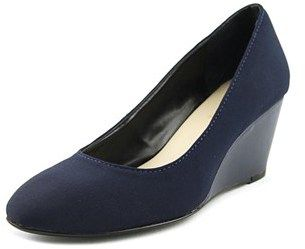 Taryn Rose Katrina Women Open Toe Synthetic Blue Wedge Heel.