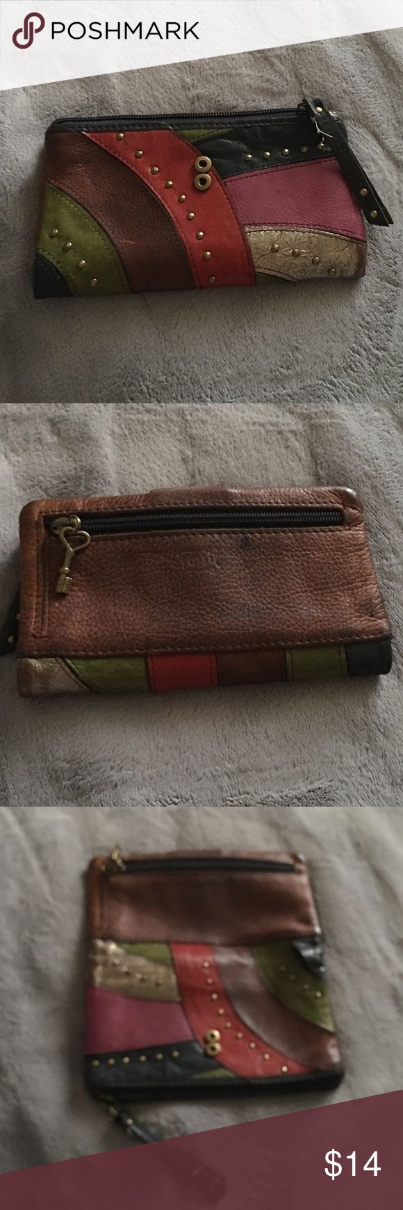 Fossil wallet Beautiful good used fossil wallet Fossil Bags Wallets