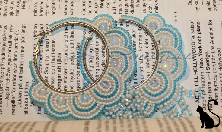 """6. Earrings """"Nefertiti"""""""