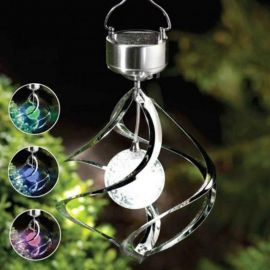 Rechargeable Battery Color Changing Solar Powered LED Windchimes