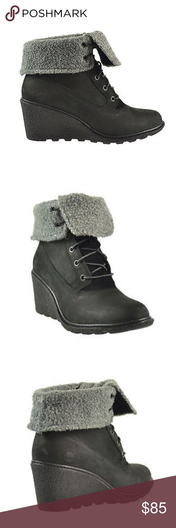 Timberland Earthkeepers Amston Roll Top Boot Timberland Earthkeepers Amston Roll Top Women's Boots Black 8258a Timberland Shoes Ankle Boots & Booties