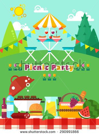 Party At The Park Invitation Stock Photos, Images, & Pictures | Shutterstock