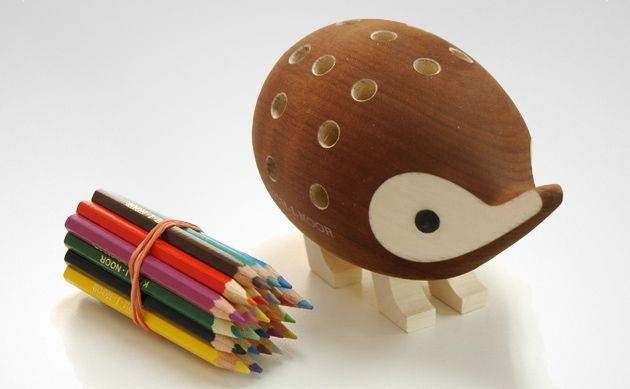 Hedgehog Pencil Holder | DROOL'D