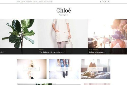 designeour:    Classic WordPress Theme - Chloe by LucaLogos...