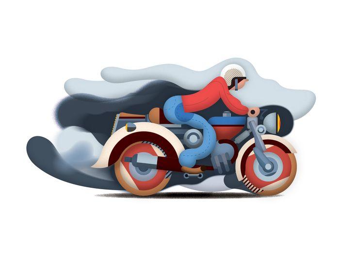 Motorist. By Studio Kalle Mattsson.