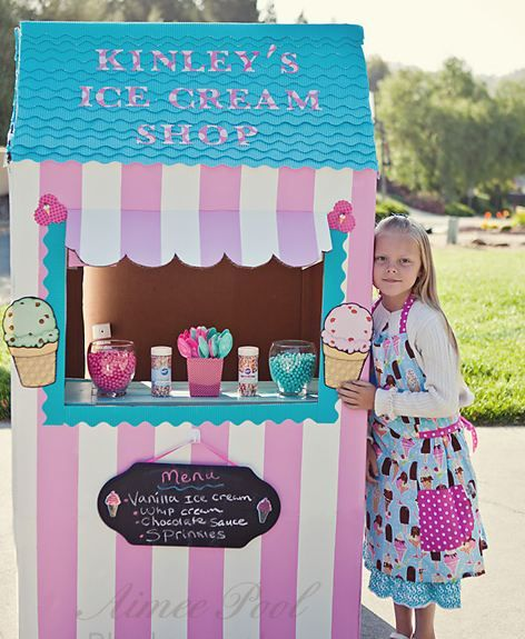 269 best buffet ice cream bar images on pinterest conch homemade ice cream shop from mommy babble ccuart Image collections